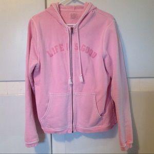 Life Is Good Hooded Full-zip Jacket